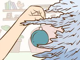 Where To Buy Christmas Tree Tinsel Icicles by 3 Ways To Decorate A Christmas Tree In Ombre Wikihow