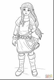 Good Of Zelda Coloring Pages Young Page Printable With And