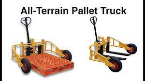 All-Terrain Pallet Truck Product Video - YouTube Rough Terrain Sack Truck From Parrs Workplace Equipment Experts Narrow Manual Pallet 800 S Craft Hand Trucks Allt2 Vestil All 2000 Lb Capacity 12 Tonne Roughall Safety Lifting All Terrain Pallet Pump 54000 Pclick Uk Mini Buy Hire Trolleys One Stop Hire Pallet Truck Handling Allterrain Ritm Industryritm Price Hydraulic Jack Powered