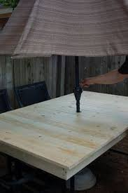 fence picket table top hello summer diy fence patios and wood