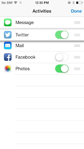 How to Add Remove & Reorder Options on Your iPhone iOS 8