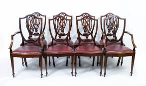 Set 8 English Antique | Ref. No. 07284 | Regent Antiques Tiger Oak Fniture Antique 1900 S Tiger Oak Round Pedestal With Ding Chairs French Gothic Set 6 Wood Leather 4 Victorian Pressed Spindle Back Circa Room 1900s For Sale At Pamono Antique Ding Chairs Of Eight Chippendale Style Mahogany 10 Arts Crafts Seats C1900 Glagow Antiques Atlas Edwardian Queen Anne Revival Table 8 Early Sets 001940s Extendable With Ball Claw Feet Idenfication Guide