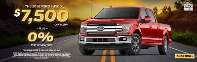 100 Rebates On Ford Trucks Gene Messer Amarillo Car And Truck Dealership