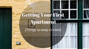 Getting Your First Apartment 1