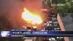 VIDEO: Food Trucks Explode In Portland, Oregon | 6abc.com Investigators Looking Into Cause Of Truck Explosion While Crew Was Tanker With 9000 Gallons Gas Overturns Explodes Portland Food Explodes Kobitv Nbc5 Kotitv Nbc2 Pickup Next To Southcrest Apartments The San Diego Propane Tanker Flames On I40 Kforcom Takata Troubles Worsen As Kills Texas Woman Watch Tipped Engulf Highway In Cnn Video Fire More Than 100 People Gerianile Ohp Man Pulls Driver From Burning Fedex After Crash Us Syria Dozens Killed Fuel Truck Explosion Airstrikes Near Eric Sniders Sort Boring Blog Party Whole Road Engulfed Ethanol Erupts Following