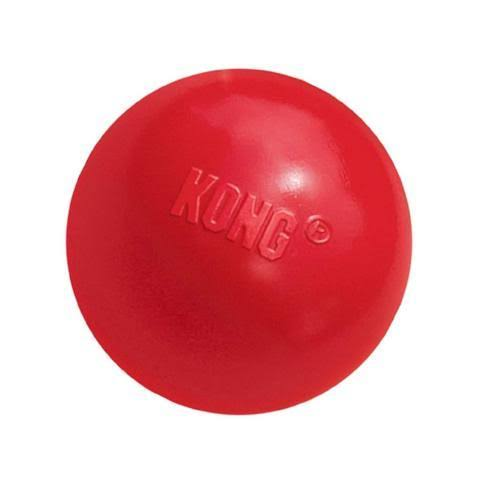 KONG Ball Dog Toy - Small, Red