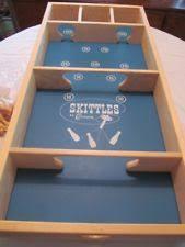 Carrom Skittles Board Game