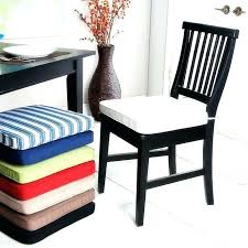 Tie Back Chair Cushions Washable Dining