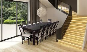 design esszimmer garnitur stuhl set tisch 12 stühle essgarnituren tische holz