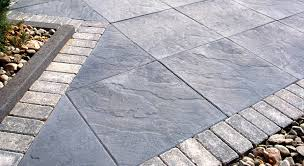 Stamped Concrete Patio Tar Patio Furniture With Great Patio