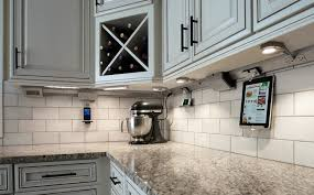 kitchen cabinet lighting power system iphone docks