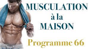 programme de musculation avec haltères musculation à la maison