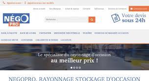 Negopro Rayonnage Stockage D Occasion Nego Pro Achat Et Vente De Matériel De Rayonnage D Occasion Autres Liens