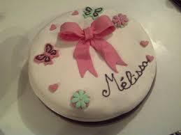 deco gateau en pate a sucre 1er gâteau avec décor pâte a sucre recette de 1er gâteau