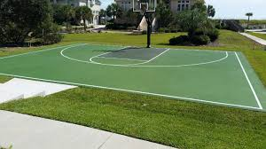 New Myrtle Beach SC Backyard Basketball Court | MTJ Sports South ... Multisport Backyard Court System Synlawn Photo Gallery Basketball Surfaces Las Vegas Nv Bench At Base Of Court Outside Transformation In The Name Sketball How To Make A Diy Triyaecom Asphalt In Various Design Home Southern California Dimeions Design And Ideas House Bar And Grill College Park Half With Hill