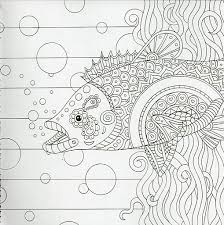 Picture Of Color Me Mindful Underwater Coloring Book