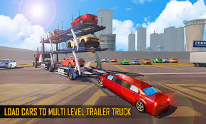 Car Transporter Truck Driver : Parking Sim Game For Android - APK ...