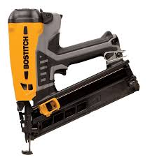 Home Depot Bostitch Floor Nailer by Bostitch Gfn1564k 15 Gauge Cordless Angled Fn Finish Nailer