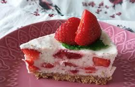 rezept für leckere erdbeer minz torte ohne backen