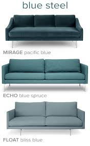 West Elm Bliss Sofa Bed by Sea Hued Sofas With Steel Legs Modern Contemporary Pinterest