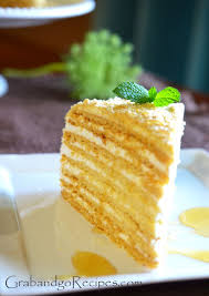 Medovik Russian Honey Cake Recipes Desserts