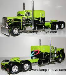 100 Toy Peterbilt Trucks DCP 4205cab 379 Tractor Stampns