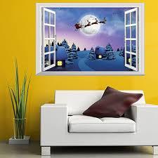 linsinch weihnachten deko aufkleber wandtattoo wohnkultur