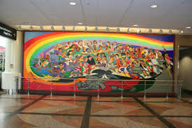 Denver International Airport Murals Meaning by Denver International Airport Conspiracy The Murals Hubpages