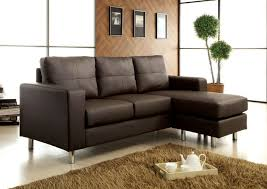 Sofa Design Leather Couch With Chaise Couch Sectionals Brown