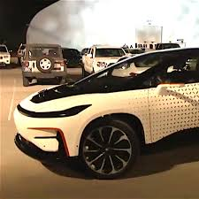 Watch Faraday Futures FF 91 Very Slowly Park Itself At CES Inverse