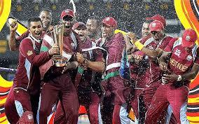 West Indies Cricket Team With ICC World Twenty20 2012 Trophy