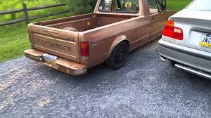 100 Rabbit Truck 1982 Vw Rabbit Truck YouTube