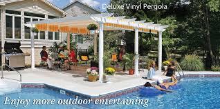 Retractable Pergola Canopies & Awnings