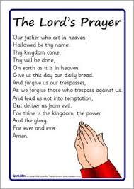 Printable The Lords Prayer