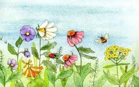 How To Paint Garden Watercolor Paintings
