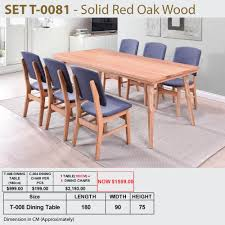 DINING SET COLLECTION * Red Oak Wood * Pine Wood ... Ding Table 6 Chairs New 5 Piece Table Set 4 Chairs Glass Metal Kitchen Room Fniture Kitchen Simple Ding And Chair Set Black Incredible Size Medida Para Mesa Em Http And Ikea Clearance White Gloss Lenoir Brasilia Style Senarai Harga Homez Solid Wood C 38 Ww T Small Extending Tables Unique Elegant Square New Transitional 7pc Deep Finish Uph Seat Grand Mahogany Hard 68 Seater Kincaid Mill House With Monaco Rectangular Outdoor Patio Office Computer Chair Cover Task Slipcover