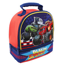 100 Monster Truck Lunch Box Blaze And The Machines Dual Compartment Soft