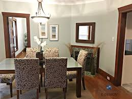The Best Neutral Paint Colours To Update Dark Wood Trim Rh Kylieminteriors Ca Dining Room Colors With Floors