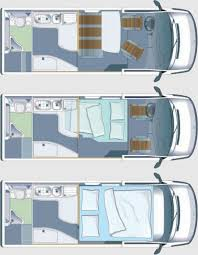 Airstream Sprinter Van Floor Plan