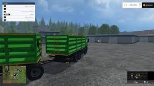 MAZ TRUCK + TRAILER V1.0 LS 15 - Farming Simulator 2019 / 2017 ...