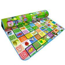 tapis de jeux voitures 200 180 0 5 cm grande taille bébé tapis de jeux jouet animal mer