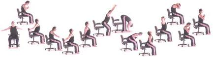 Yoga Exercise At The Office For Neck Pain And Lower Back