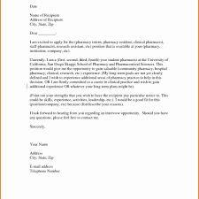 Pharmacist Cover Letter Sample Pharmacist Resume Lovely Specialty
