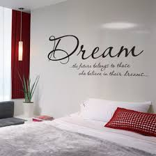 bedroom wall text sticker Home Bedroom ideas