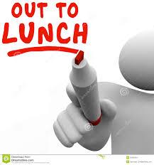 Lunch Break Stock Illustrations