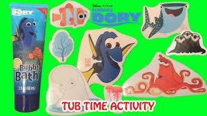 Crayola Bathtub Fingerpaint Soap by Finding Dory Tub Time Activity And Bubble Bath Disney Pixar Kids