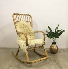 Vintage Bamboo Rocking Chair BOHO | In Oxford, Oxfordshire | Gumtree