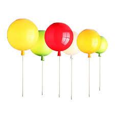 gelb farbe ballon deckenleuchte kinderzimmer deckenle led