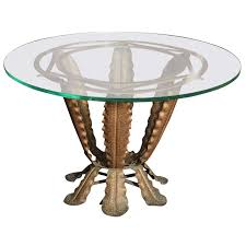 Pier One Round Dining Room Table by Pier One Round Glass Top Coffee Table With Funky Base Design Idea