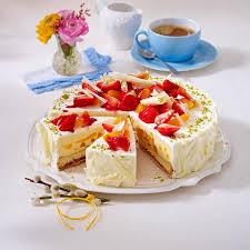 erdbeer aprikosen torte mit weißer schokolade